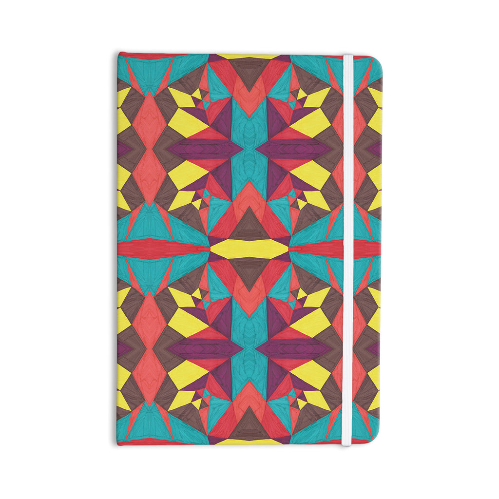 "Empire Ruhl ""Abstract Insects"" Multicolor Everything Notebook - KESS InHouse  - 1"