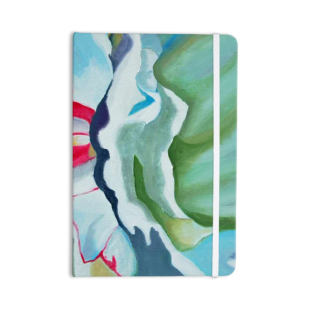 "Cathy Rodgers ""Peony Shadows"" Green Flower Everything Notebook - KESS InHouse  - 1"