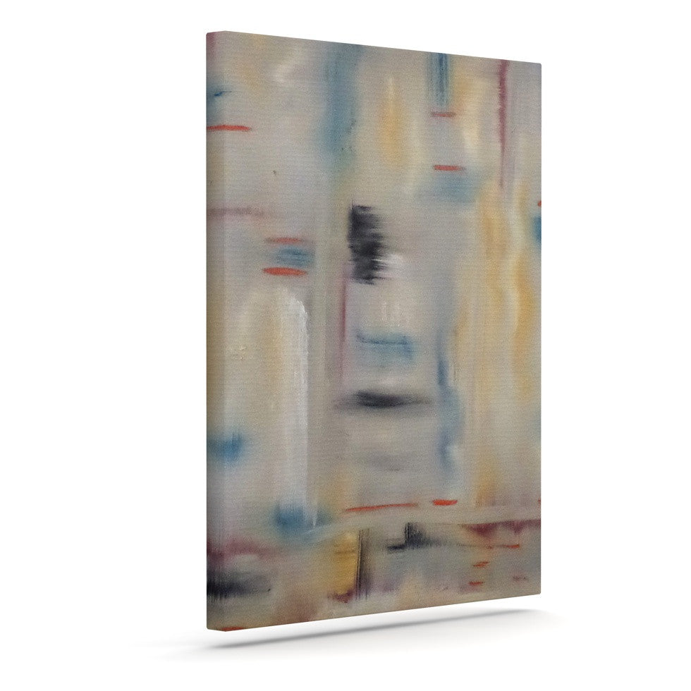 "Cathy Rodgers ""Library"" Painting Abstract Canvas Art - KESS InHouse  - 1"