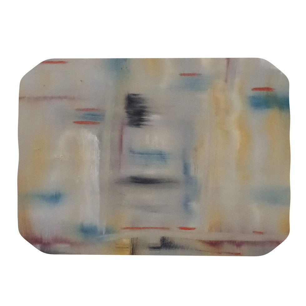 "Cathy Rodgers ""Library"" Painting Abstract Place Mat - KESS InHouse"