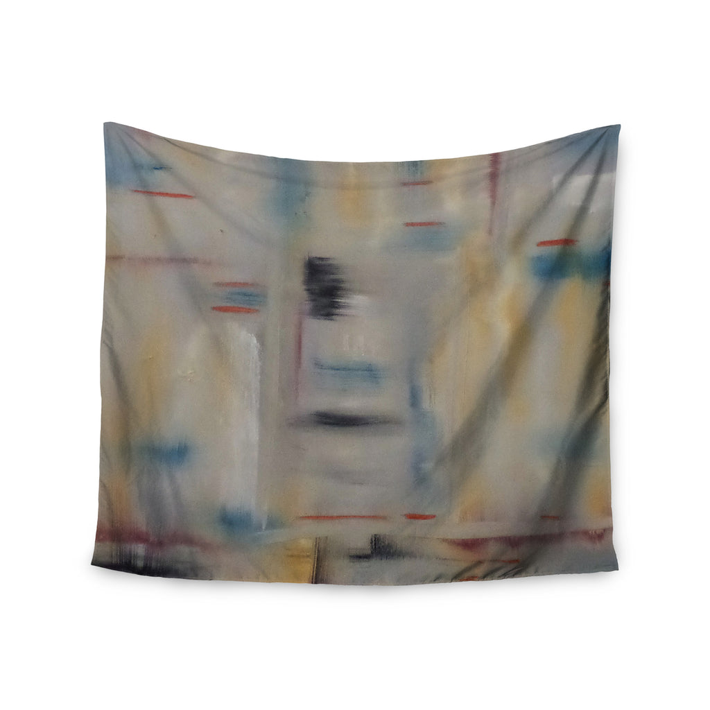 "Cathy Rodgers ""Library"" Painting Abstract Wall Tapestry - KESS InHouse  - 1"