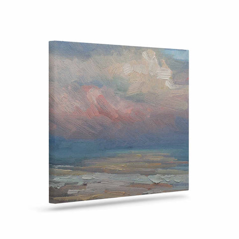 "Carol Schiff ""Pink Clouds"" Art Canvas - Outlet Item"