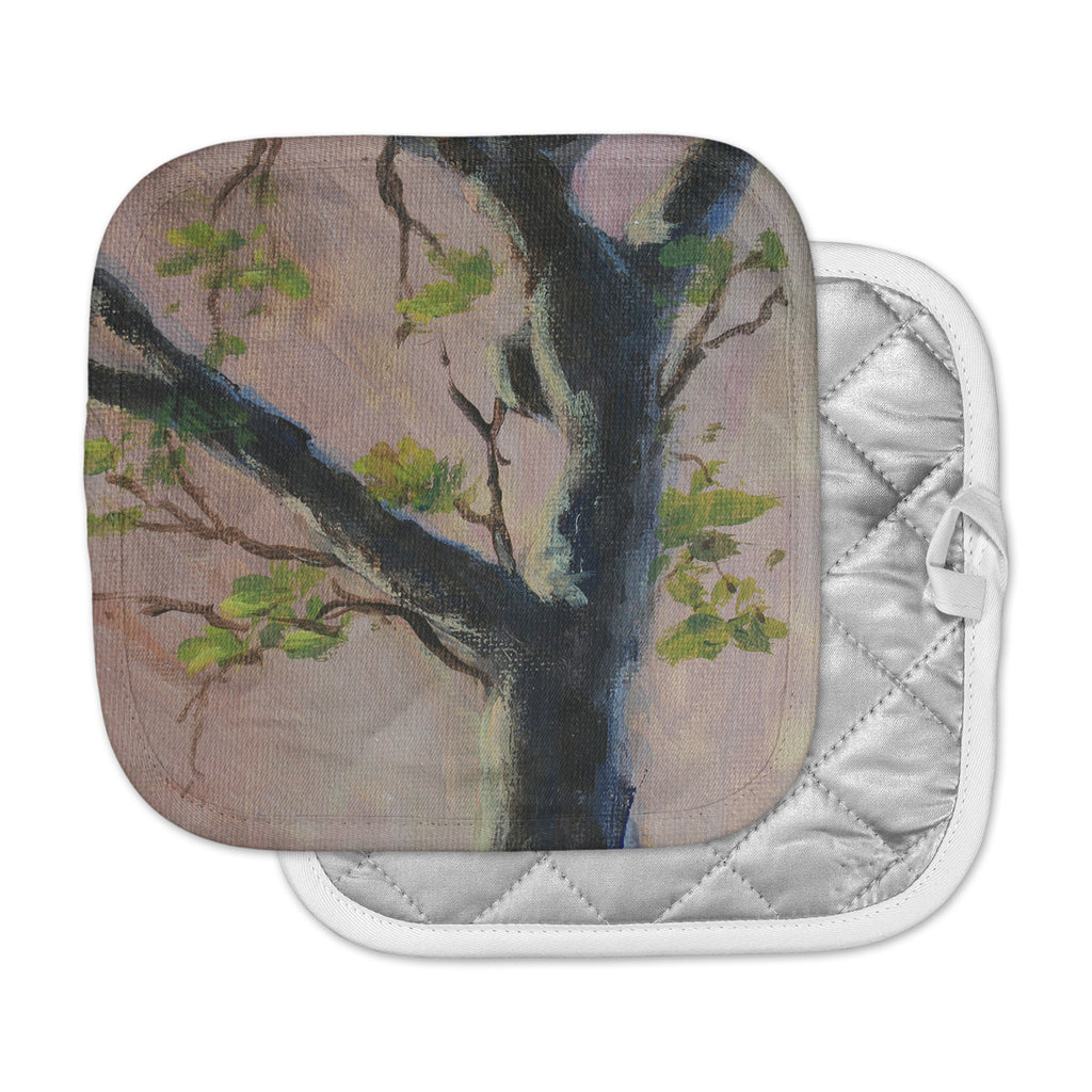 "Cyndi Steen ""Aussie Tree"" Pink Nature Pot Holder"