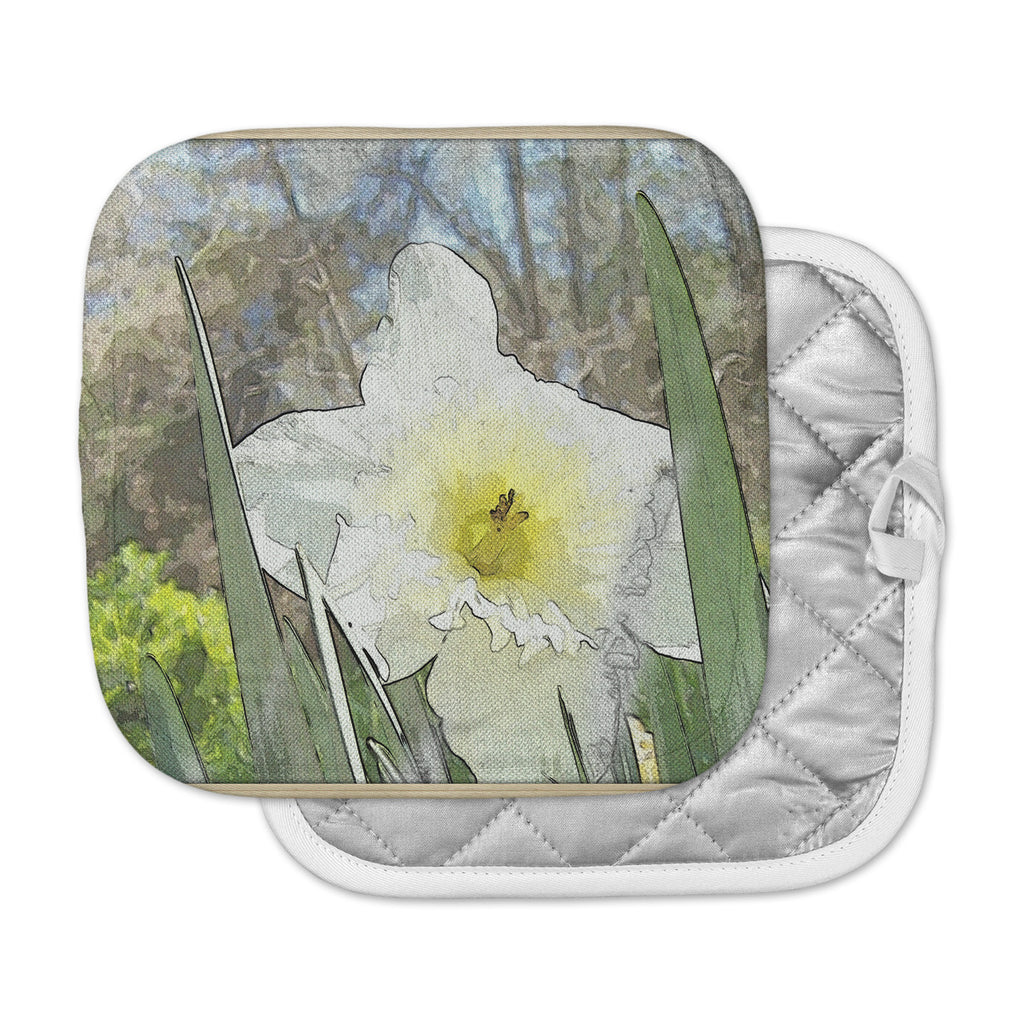 "Cyndi Steen ""Daffodil"" Multicolor Digital Pot Holder"