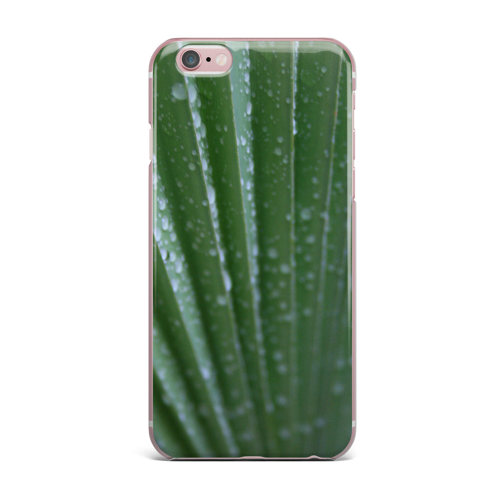 "Cyndi Steen ""Green Palm Frond"" Green Nature iPhone Case - KESS InHouse"