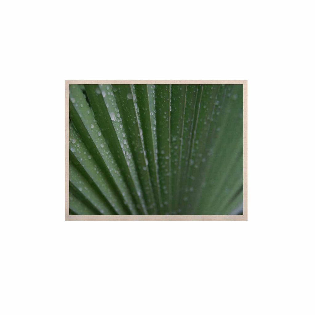 "Cyndi Steen ""Green Palm Frond"" Green Nature KESS Naturals Canvas (Frame not Included) - KESS InHouse  - 1"