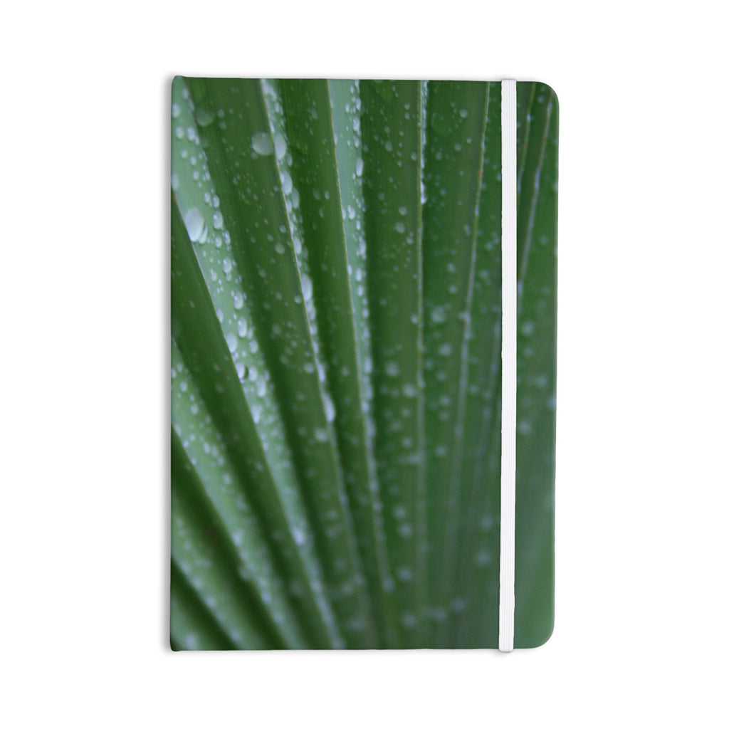 "Cyndi Steen ""Green Palm Frond"" Green Nature Everything Notebook - KESS InHouse  - 1"