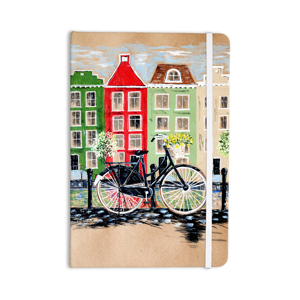 "Christen Treat ""Bicycle"" Everything Notebook - KESS InHouse  - 1"
