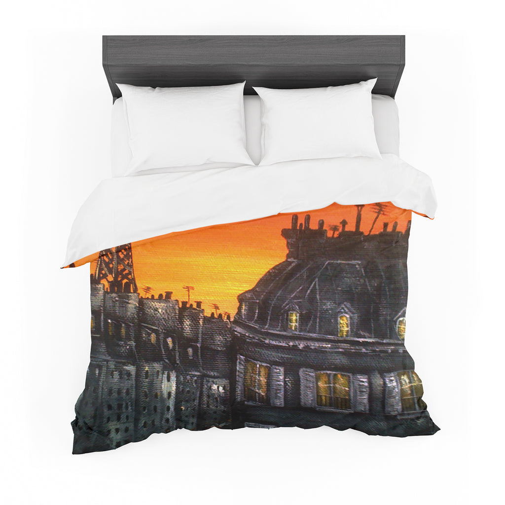 "Christen Treat ""Paris"" Featherweight Duvet Cover"
