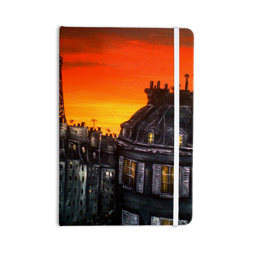 "Christen Treat ""Paris"" Everything Notebook - KESS InHouse  - 1"