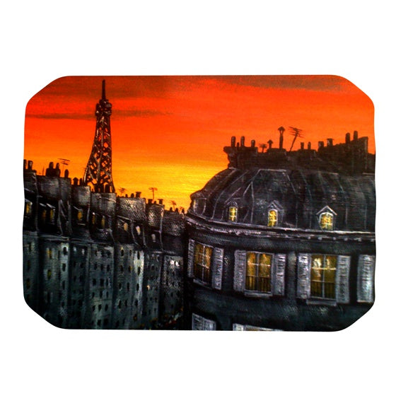 "Christen Treat ""Paris"" Place Mat - KESS InHouse"