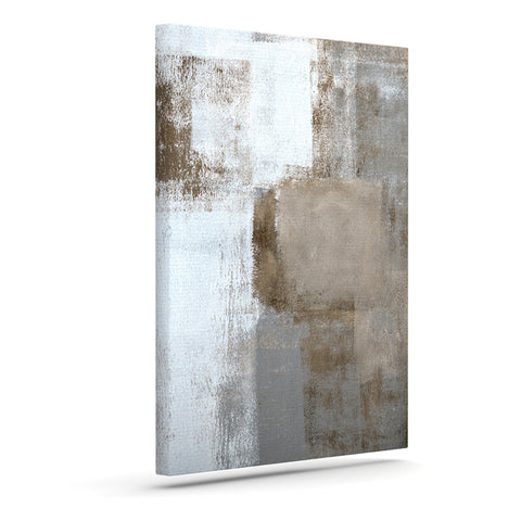 "CarolLynn Tice ""Calm and Neutral"" Art Canvas - Outlet Item"