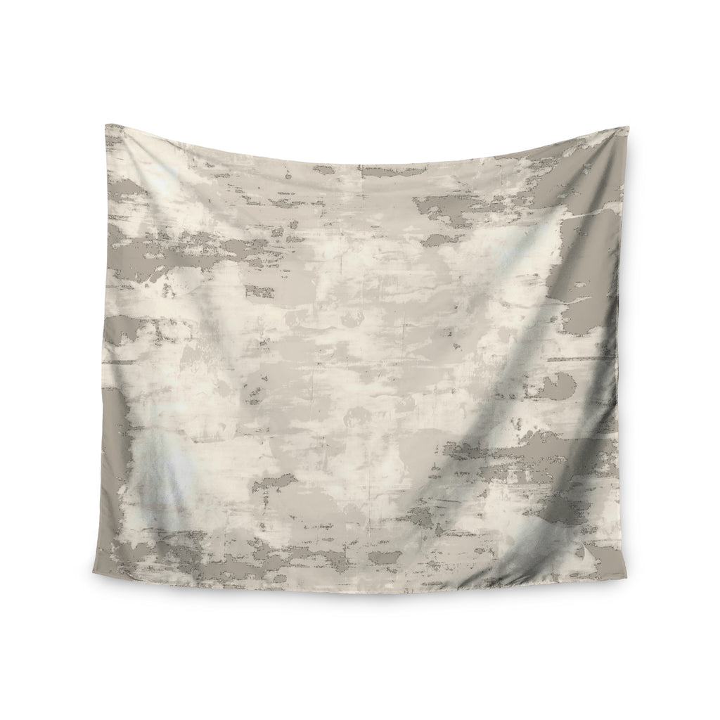 "CarolLynn Tice ""Secluded"" Brown Tan Wall Tapestry - Outlet Item"