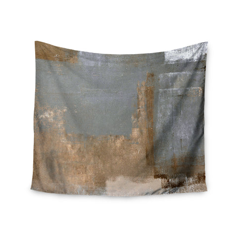 "CarolLynn Tice ""Gifted II"" Brown Gray Wall Tapestry - Outlet Item"