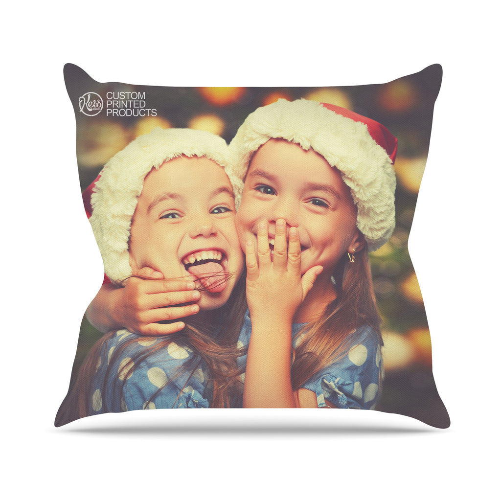 KESS Custom Printed Throw Pillow - KESS InHouse  - 1