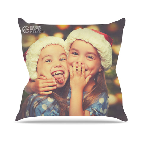 KESS Custom Printed Outdoor Throw Pillow - KESS InHouse  - 1