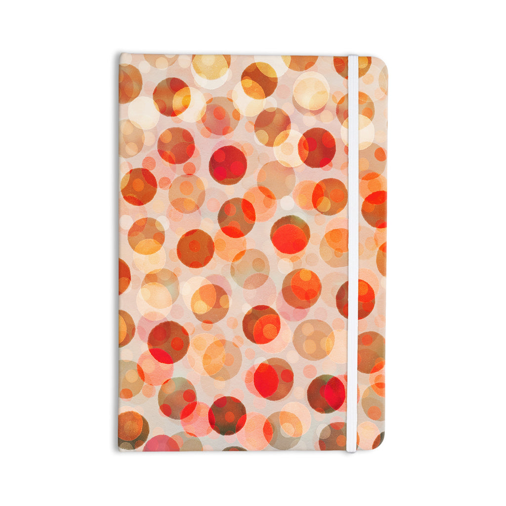 "Daisy Beatrice ""Shepard's Delight"" Orange Everything Notebook - KESS InHouse  - 1"
