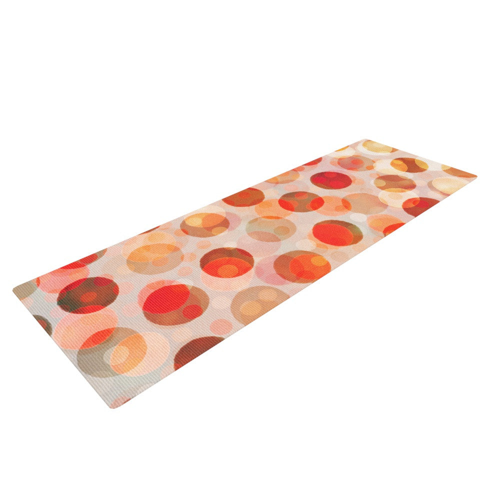 "Daisy Beatrice ""Shepard's Delight"" Orange Yoga Mat - KESS InHouse  - 1"
