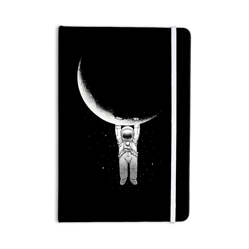 "Digital Carbine ""Help!"" Black White Everything Notebook - KESS InHouse  - 1"
