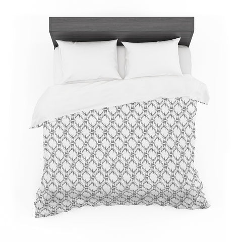 "DLKG Design ""Deer Deer""  Featherweight Duvet Cover - Outlet Item"