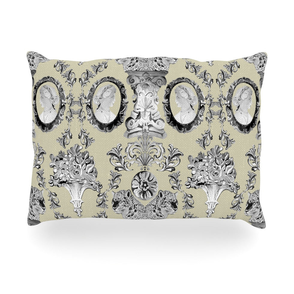 "DLKG Design ""Imperial Palace"" Oblong Pillow - KESS InHouse"