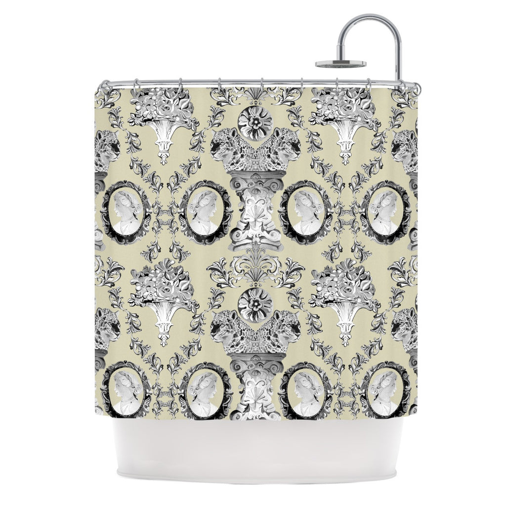 "DLKG Design ""Imperial Palace"" Shower Curtain - KESS InHouse"