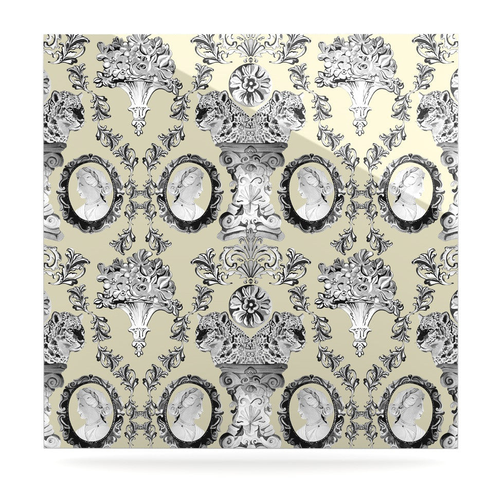 "DLKG Design ""Imperial Palace"" Luxe Square Panel - KESS InHouse  - 1"