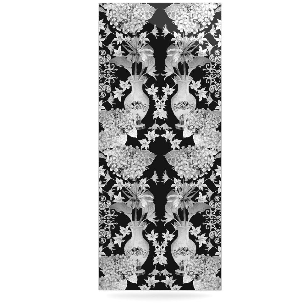 "DLKG Design ""Versailles Black"" Luxe Rectangle Panel - KESS InHouse  - 1"