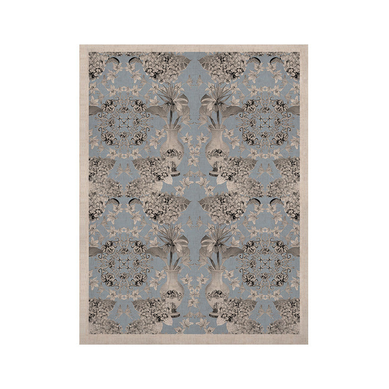 "DLKG Design ""Versailles Blue"" KESS Naturals Canvas (Frame not Included) - KESS InHouse  - 1"