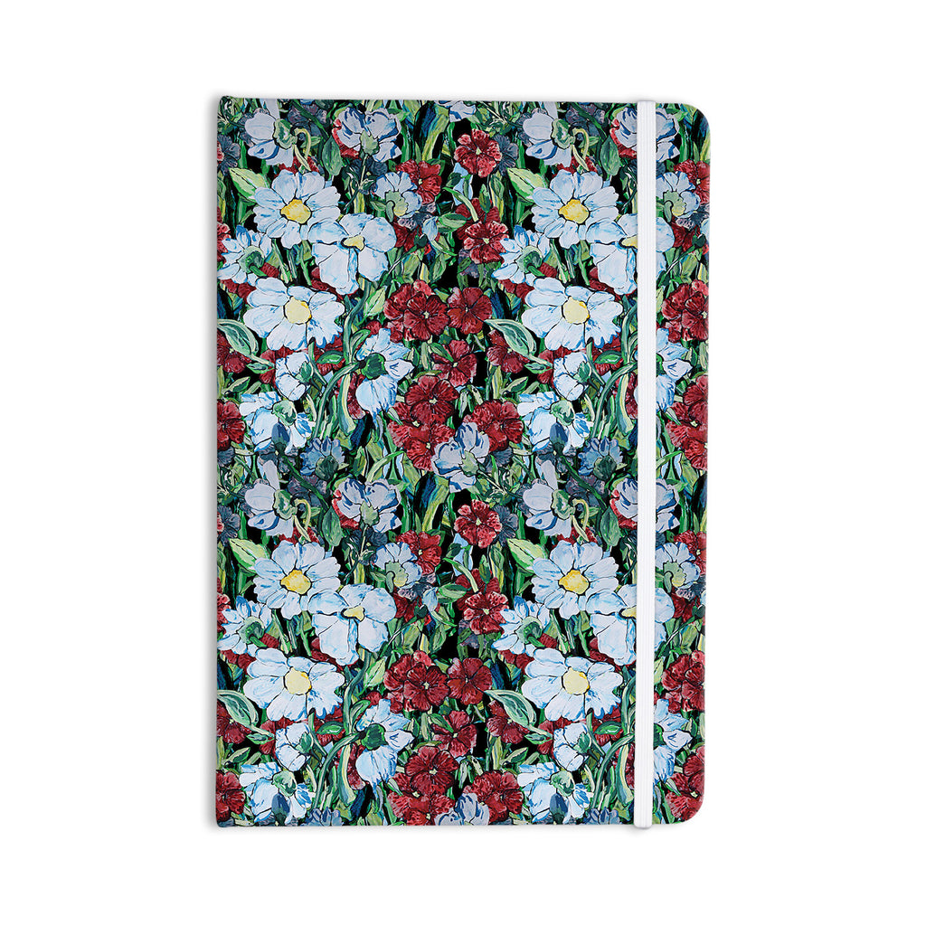 "DLKG Design ""Giardino"" Garden Flowers Everything Notebook - KESS InHouse  - 1"