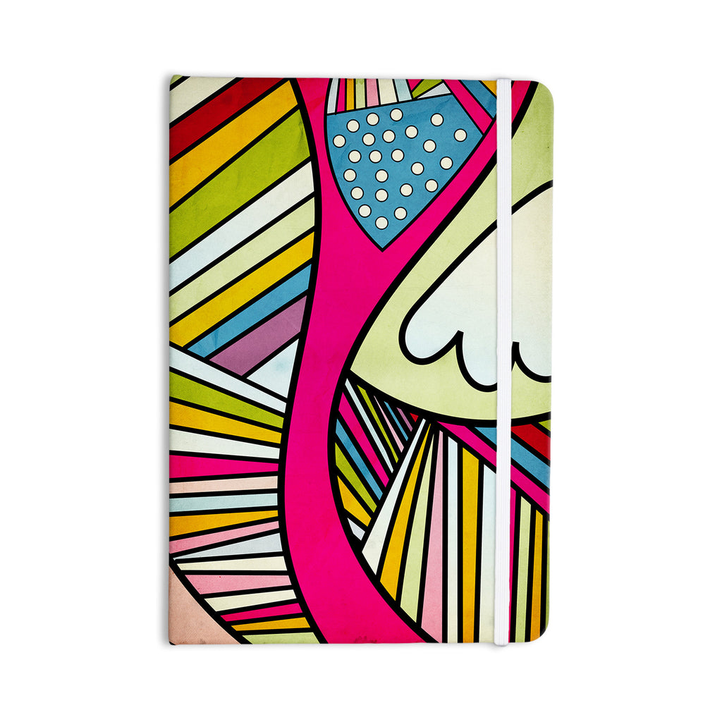 "Danny Ivan ""Fake Colors"" Everything Notebook - KESS InHouse  - 1"
