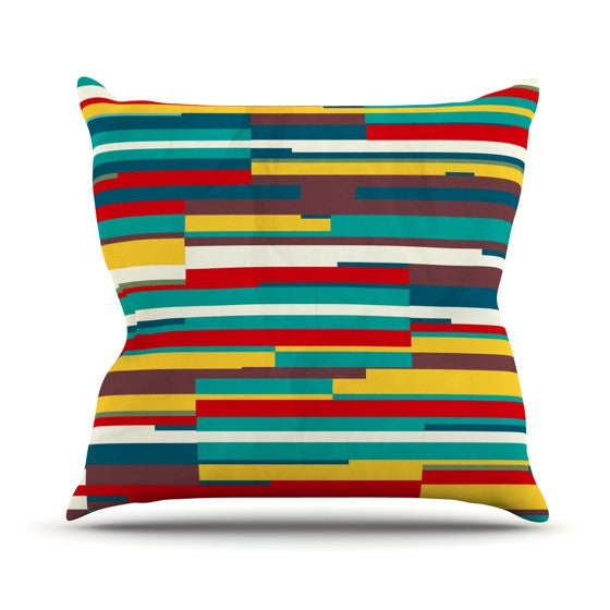 "Danny Ivan ""Blowmind"" Outdoor Throw Pillow - KESS InHouse  - 1"