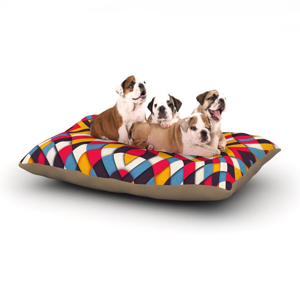 "Danny Ivan ""Stained Glass"" Dog Bed - KESS InHouse  - 1"