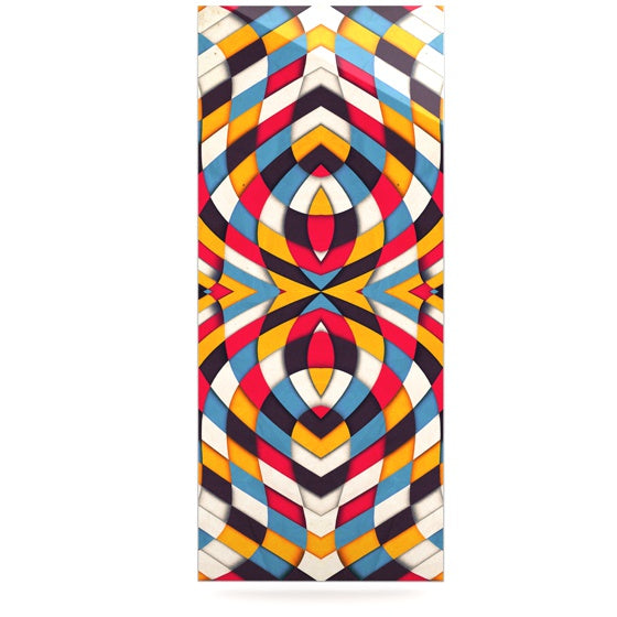 "Danny Ivan ""Stained Glass"" Luxe Rectangle Panel - KESS InHouse  - 1"
