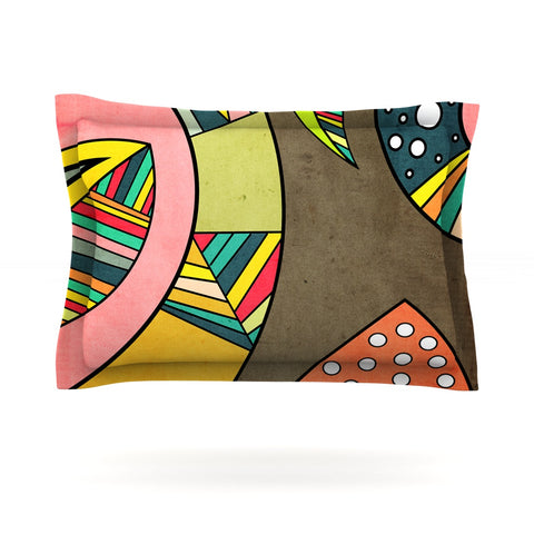 "Danny Ivan ""Cosmic Aztec"" Pillow Sham - Outlet Item"