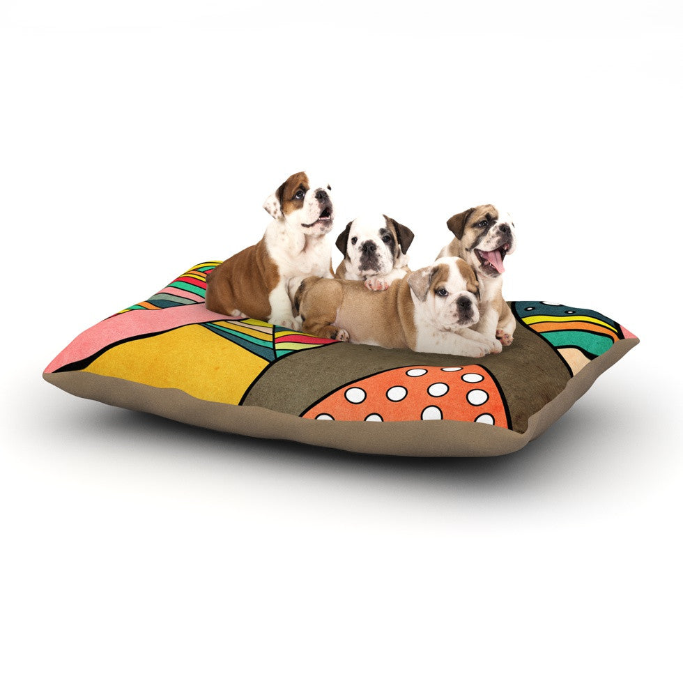 "Danny Ivan ""Cosmic Aztec"" Dog Bed - KESS InHouse  - 1"