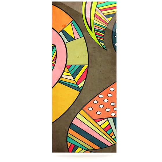 "Danny Ivan ""Cosmic Aztec"" Luxe Rectangle Panel - KESS InHouse  - 1"