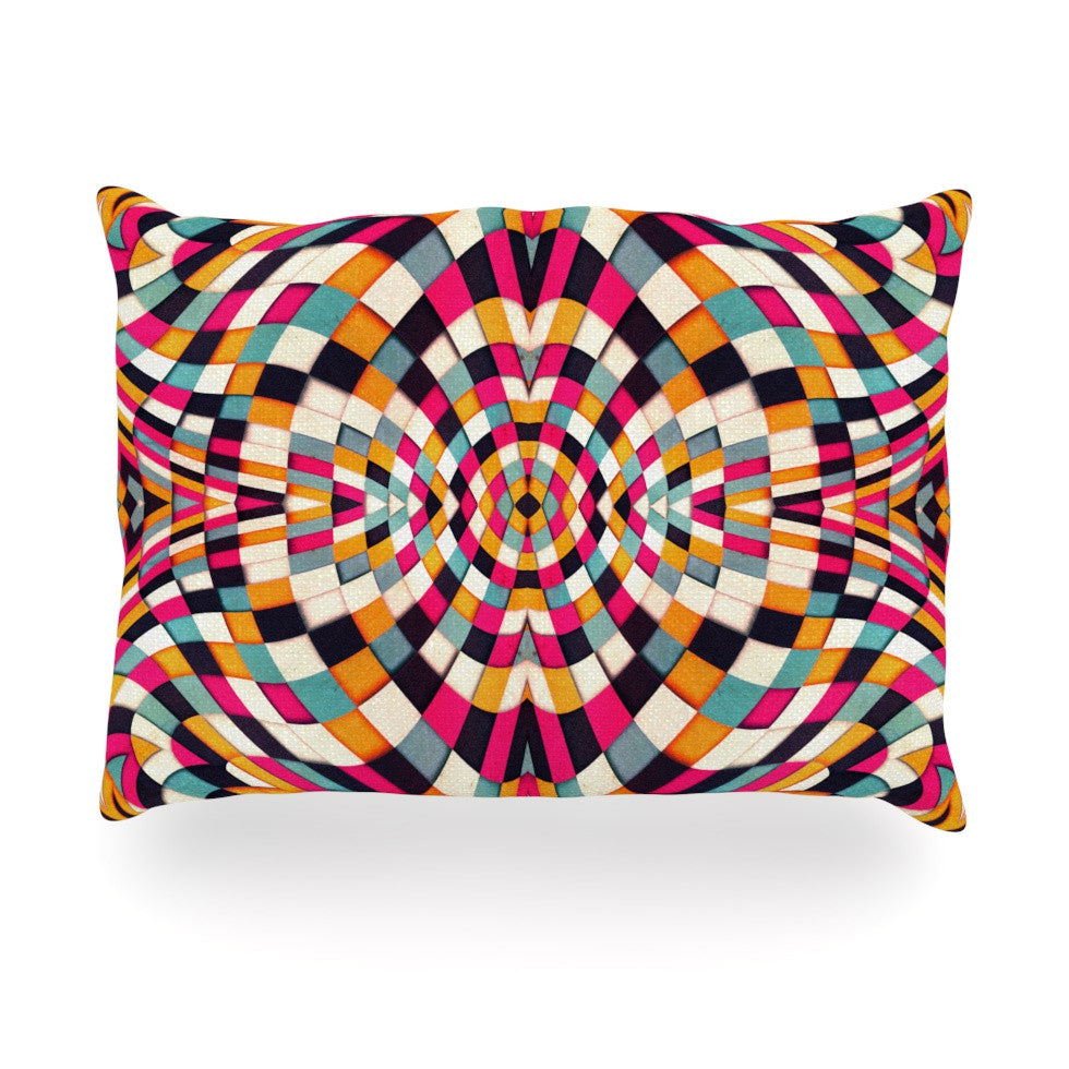"Danny Ivan ""Rebel Ya"" Oblong Pillow - KESS InHouse"