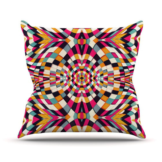 "Danny Ivan ""Rebel Ya"" Outdoor Throw Pillow - KESS InHouse  - 1"
