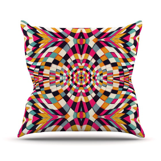 "Danny Ivan ""Rebel Ya"" Throw Pillow - KESS InHouse  - 1"