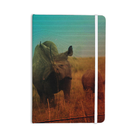 "Danny Ivan ""Abstract Rhino"" Everything Notebook - KESS InHouse  - 1"
