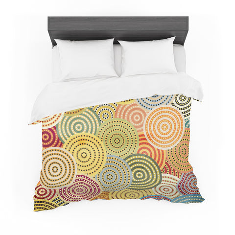 "Danny Ivan ""Matias Girl""  Featherweight Duvet Cover - Outlet Item"