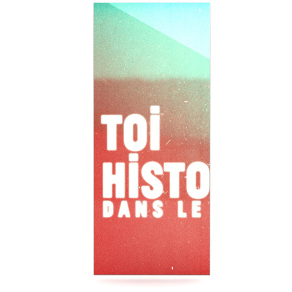 "Danny Ivan ""Toi Histoire"" Luxe Rectangle Panel - KESS InHouse  - 1"