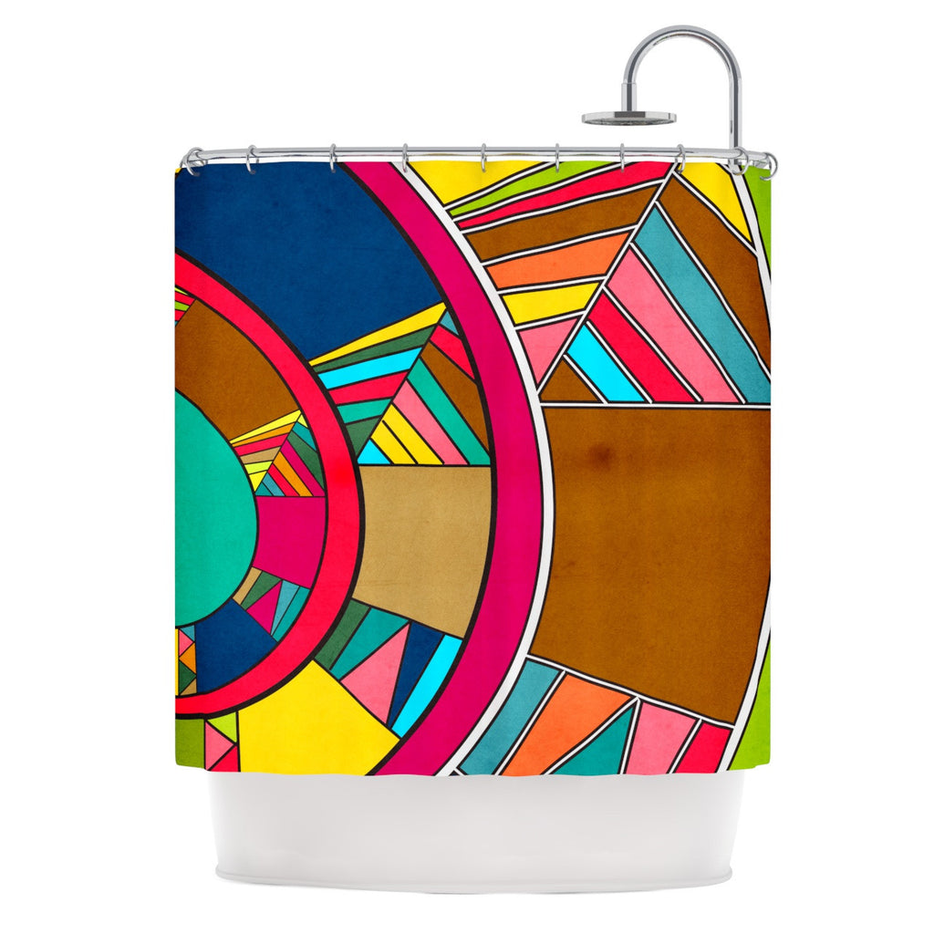 "Danny Ivan ""Lov Pattern"" Shower Curtain - KESS InHouse"