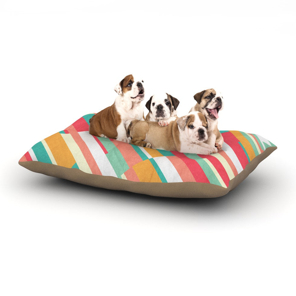 "Danny Ivan ""Droplines"" Dog Bed - KESS InHouse  - 1"