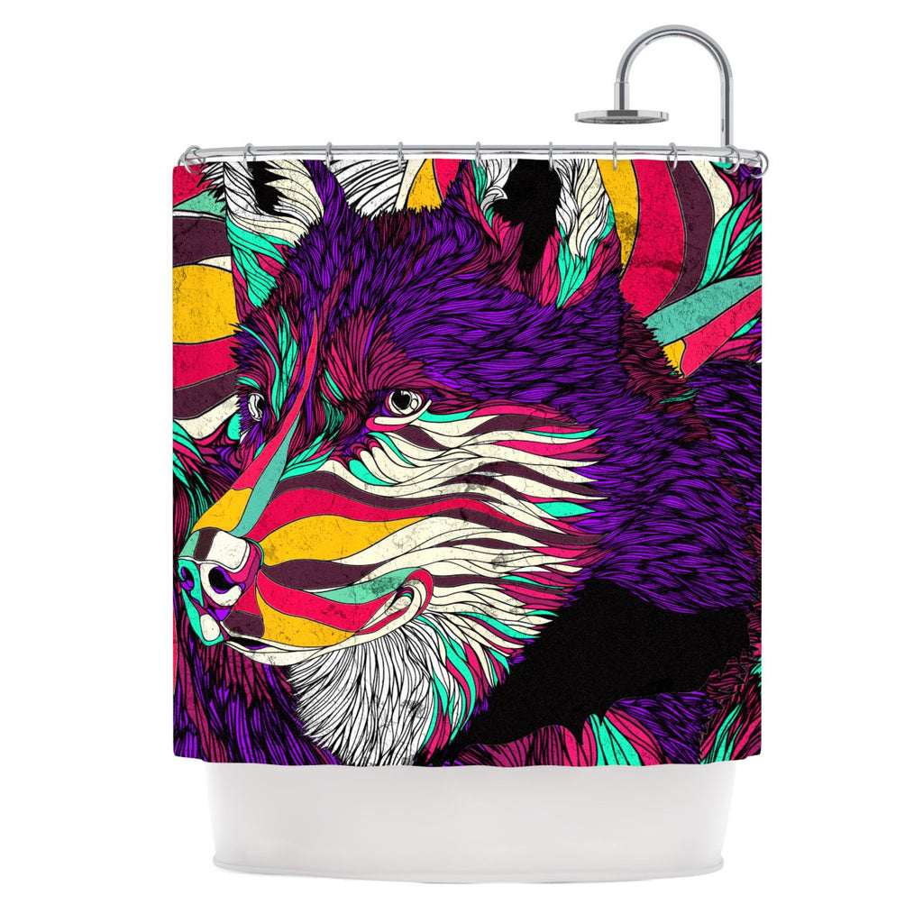 "Danny Ivan ""Color Husky"" Shower Curtain - KESS InHouse"