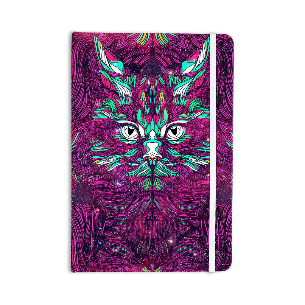 "Danny Ivan ""Space Cat"" Everything Notebook - KESS InHouse  - 1"