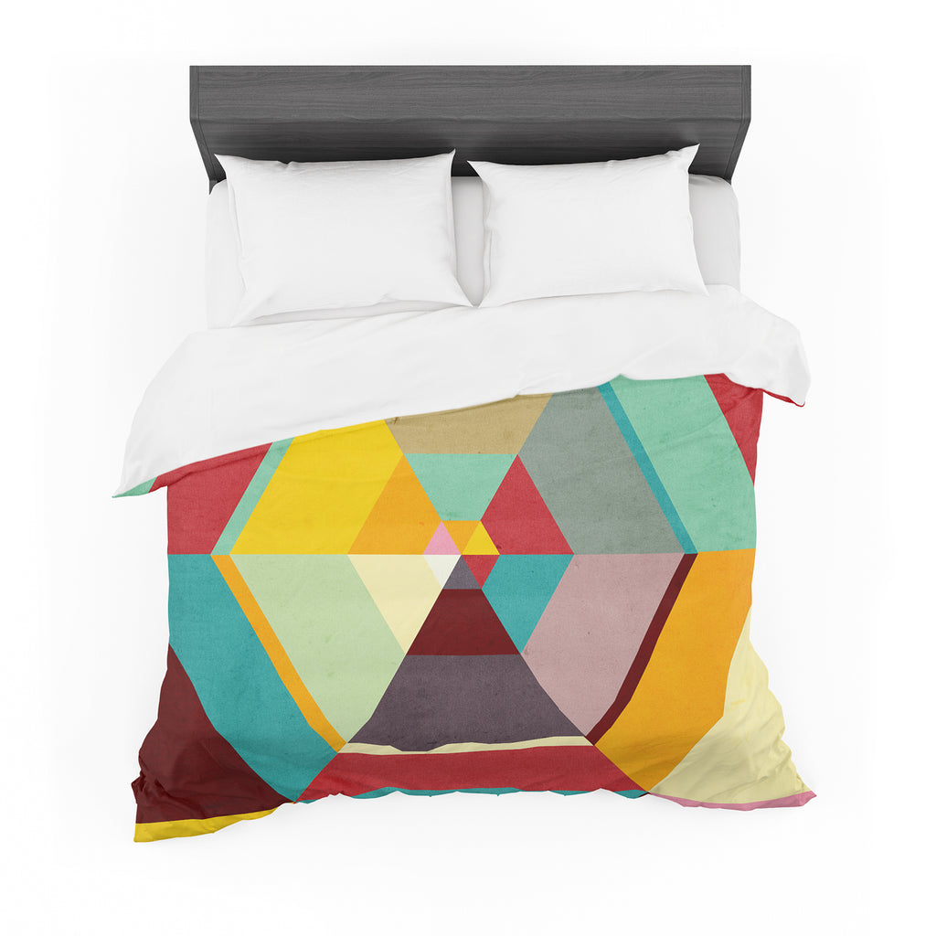 "Danny Ivan ""Color Mess"" Cotton Duvet"