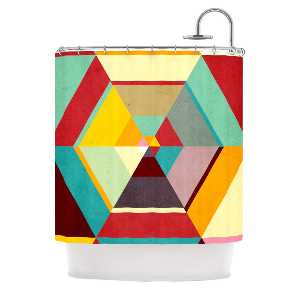 "Danny Ivan ""Color Mess"" Shower Curtain - KESS InHouse"