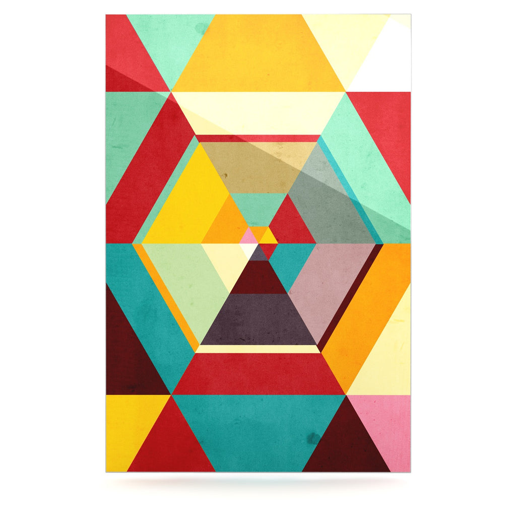 "Danny Ivan ""Color Mess"" Luxe Rectangle Panel - KESS InHouse  - 1"